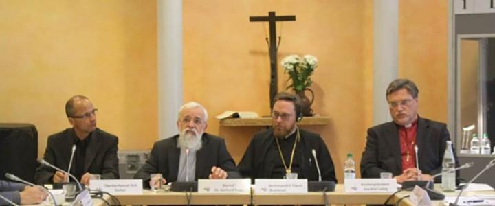 Заседание рабочей группы «Церкви в Европе» российско-германского Форума гражданских обществ «Петербургский диалог»