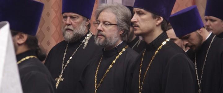 25.02.19 — В Николо-Угрешской семинарии прошёл вечер памяти Святейшего Патриарха Московского и всея Руси Алексия II