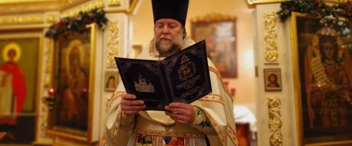 Настоятель храма иерей Владимир Духович прокомментировал начало богослужений с прихожанами